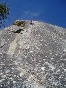 Rock Climbing Photo: top pitch