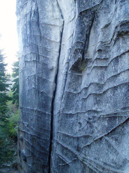 Rock Climbing Photo: Profile of Pillar of Society