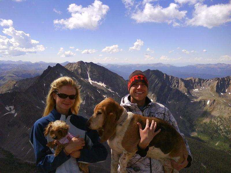 Huron Peak 14,003<br> 8/24/08<br>