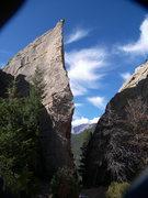 Rock Climbing Photo: Edge of Time, Jurassic Park.