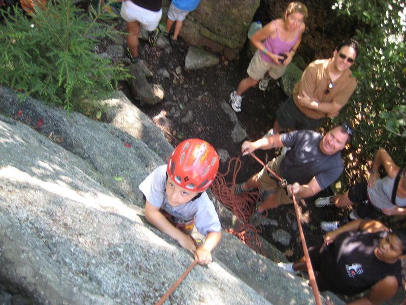 Rock Climbing Photo: Great beginner climb!