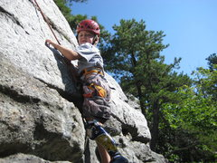 Rock Climbing Photo: Having fun!
