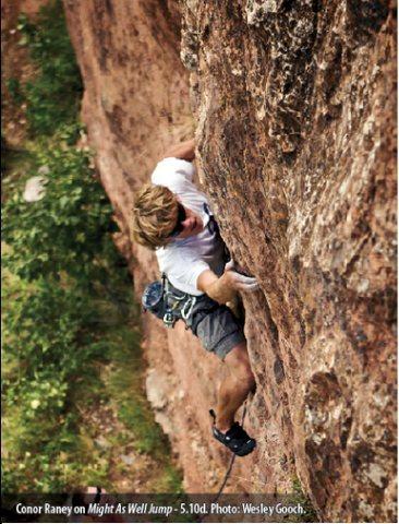 Rock Climbing Photo: Darby Canyon