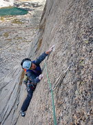 Rock Climbing Photo: Seth Finkelstein climbing some sweet stone on Spea...