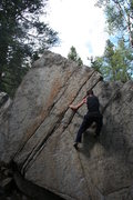 Rock Climbing Photo: Big granite boulders.