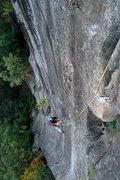Rock Climbing Photo: Dad getting in to the fun stuff...
