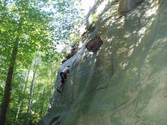 Rock Climbing Photo: Local Jim and wife Amy live 15 miles from Logtown ...