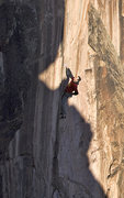 Rock Climbing Photo: a chilly day in January, lower millcreek, northsid...