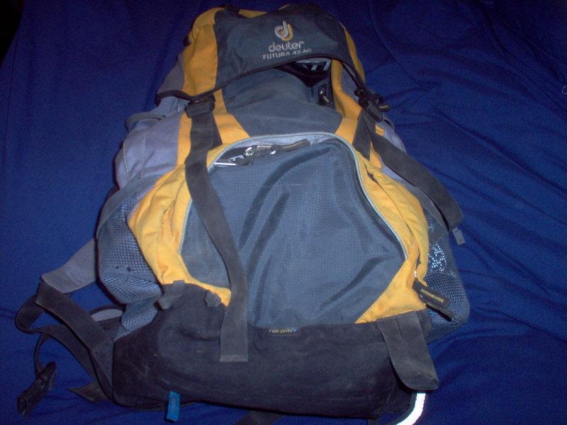 Deuter pack