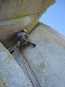 Rock Climbing Photo: Gomoll, pitch 5 (11-) Don Juan Wall (11b). Sorcere...