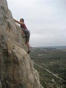Rock Climbing Photo: The view from Mission Control (5.8)