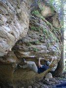 Rock Climbing Photo: the traverse.