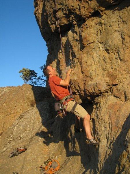 Rock Climbing Photo: Start of Prodigal Son.