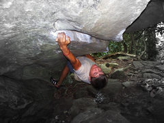 Rock Climbing Photo: Third rail V9 Grandmother NC