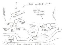 Rock Climbing Photo: Boat Landing and Danny's Imaginary Boulders.  In r...
