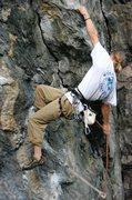 Rock Climbing Photo: Erik clipping.