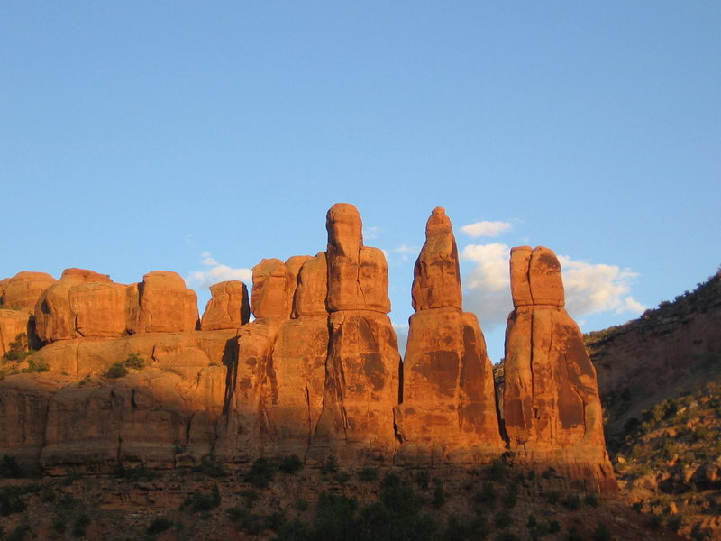 The Black Rock Towers.<br> <br> Photo courtesy of Scotty Mann