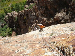Rock Climbing Photo: A leisurely outing on a nice fall day.  Boissal an...