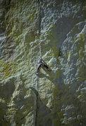Rock Climbing Photo: JW pitch 1