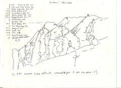 Rock Climbing Photo: Southern Comfort Wall