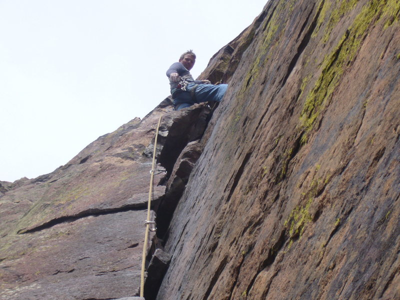 Rock Climbing Photo: Ruper crack