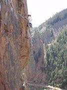 Rock Climbing Photo: Rosy Crucifiction