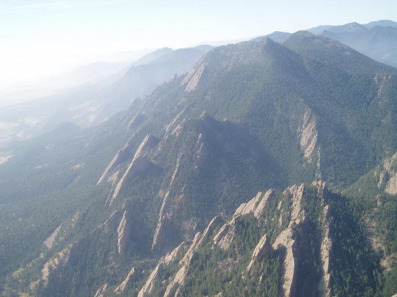 Rock Climbing Photo: Bear Peak....