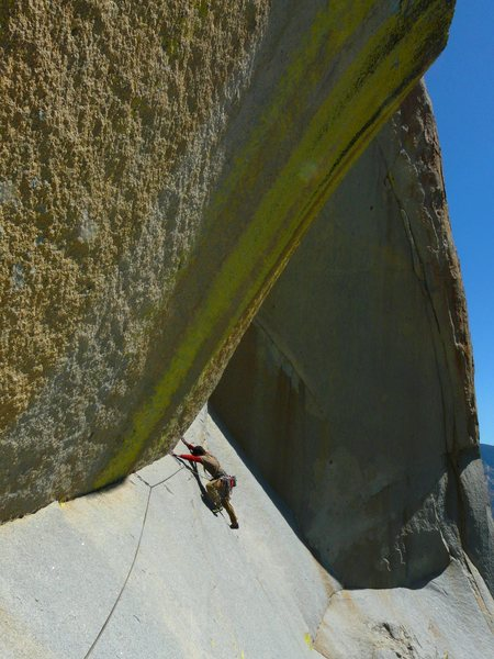 Rock Climbing Photo: The slab pitch Photo by Darshan Ahluwalia