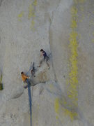 Rock Climbing Photo: Two climbers about to have a not so fun time on At...