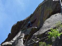 Rock Climbing Photo: Peanuts