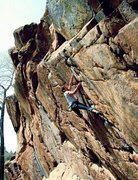 Rock Climbing Photo: making the connection on 'the westside connection'...