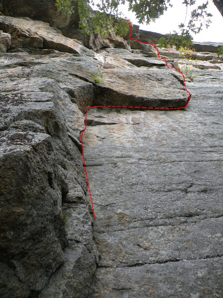 Rock Climbing Photo: Dry Heaves: A great traverse, just a little to clo...