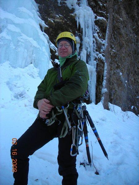 Rock Climbing Photo: Eric Landmann Wyalusing Dennis's quarry 08.
