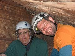Rock Climbing Photo: With Idan deep in the bowels of Community Pillar R...