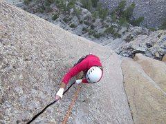 Rock Climbing Photo: The classic locks on One Way Sunset...