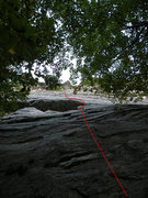 Rock Climbing Photo: This is the beginning of Lost and Found, not the s...