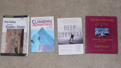 Rock Climbing Photo: books2