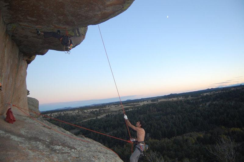 Rock Climbing Photo: Moonsault.