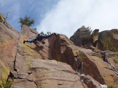 Rock Climbing Photo: You don't need handholds when you can stem this wi...