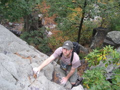Rock Climbing Photo: P3 A nice casual solo