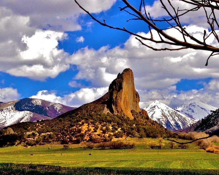 Rock Climbing Photo: Crawford Needle