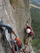 Rock Climbing Photo: Reggie on DT not in SD but a good shot I thought.
