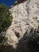 Rock Climbing Photo: Hip Boot Romance climbs through the low scoop, and...