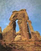 Rock Climbing Photo: Druid Arch