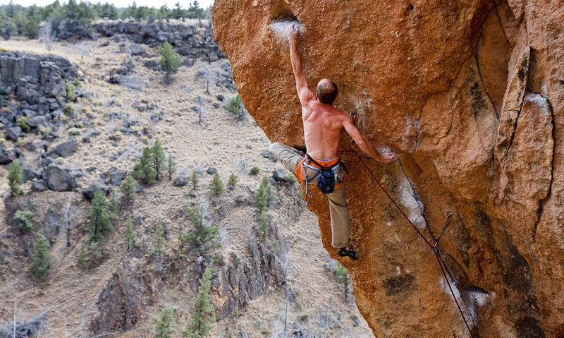 Rock Climbing Photo: Ryan Palo demonstrating the exceedingly awkward an...