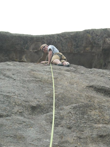 Rock Climbing Photo: A climb i don't remember the name of in Eleven Mil...