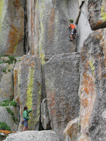 Rock Climbing Photo: Bottom of Tide Country