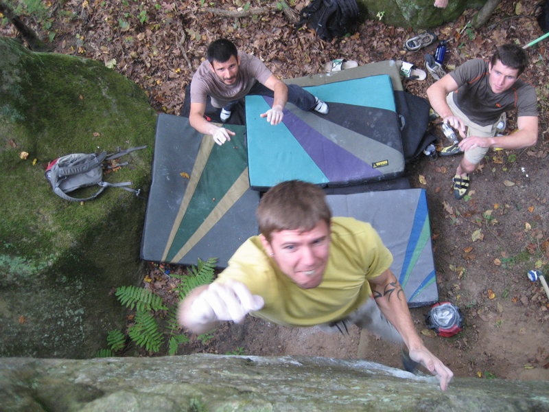Rock Climbing Photo: Big ups