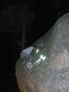 Rock Climbing Photo: When night bouldering it's important to make sure ...