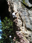 Rock Climbing Photo: Arabesque